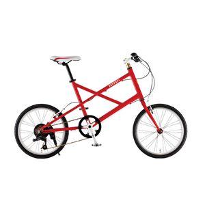 Ferrari(フェラーリ) 自転車 20インチ MV-X 207 レッド