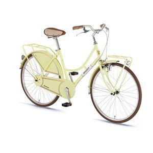 RENAULT(ルノー) 折り畳み自転車 26インチ 260 Classic II クリーム 【シティーバイク】