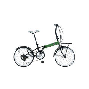FIAT(フィアット) 折畳自転車 FDB206SK 20インチ グリーン