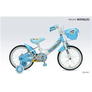 ディズニー子供用自転車16インチ 補助輪付 ミッキー MD-06