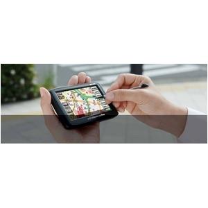 徒歩&車載モード ポータブルメモリナビ 4.3インチ【持ち運びができるカーナビ】HCN-432