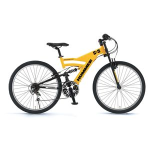 HUMMER 自転車 AL-ATB268 DH イエロー