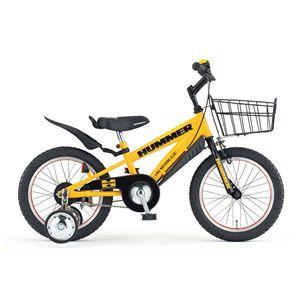 HUMMER(ハマー) 子供用自転車 CHIBI(チビ) 16インチ イエロー