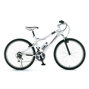 CHEVY(シボレー) 自転車 LOOP ATB 268 F-sus 26インチ ホワイト 【マウンテンバイク】