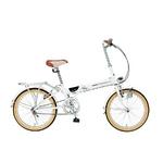 マイパラス 折畳自転車20型 M-240 ライト付 ホワイトの詳細ページへ