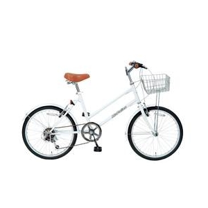 MYPALLAS(マイパラス) 自転車 S-サイクル 20インチ 6段変速 M-702 ホワイト