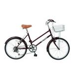 MYPALLAS(マイパラス) 自転車 S-サイクル 20インチ 6段変速 M-702 グレープ