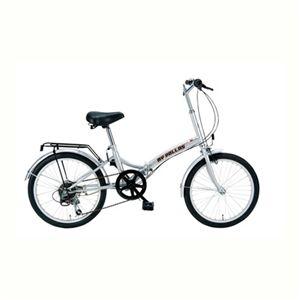 【12月31日まで】MYPALLAS(マイパラス) 折畳自転車20・6SP M-30 シルバー