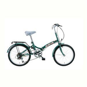 【12月31日まで】MYPALLAS(マイパラス) 折畳自転車20・6SP M-30 モスグリーン