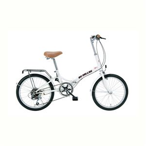 【12月31日まで】MYPALLAS(マイパラス) 折畳自転車20・6SP M-30 ジュエルホワイト