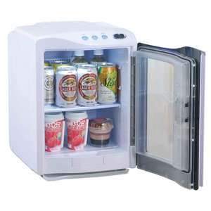 RAMASU(ラマス) ポータブル冷温庫 20Lタイプ RA-H20 ホワイト 【保冷庫・保温庫・温冷庫】