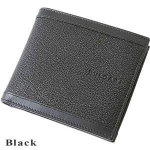 BVLGARI(ブルガリ) 二折財布 DOPPIO TONDO ブラック(black)/25295