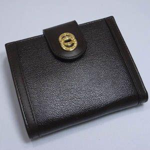Bvlgari(ブルガリ) ドッピオトンド ダブルホック財布 25216 /Dark Brown