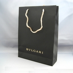 BVLGARI(ブルガリ) #25216 Woman wallet 2 folds Goat leather dark brown/calf leather dark brown/G