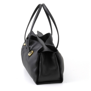 BVLGARI(ブルガリ)# 23850 Twist bag Original shape Extreme deer black/G.