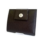 BVLGARI (ブルガリ) タブルホック 財布 22552 ブラウン