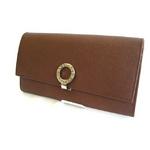 BVLGARI(ブルガリ) 長財布 26602 ブルガー ブラウン