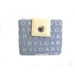 BVLGARI(ブルガリ) ダブルホック 財布 23725 ライトブルー