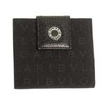 BVLGARI(ブルガリ) ミニ財布 22250 レッタレ ブラック