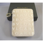 BVLGARI(ブルガリ) メモ帳用カバー 25156 ベージュ(カードホルダーセット)