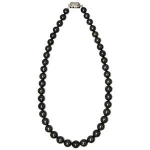 【鑑別付】タヒチ産真珠 T-1 8~10mm ネックレス(ケース付)