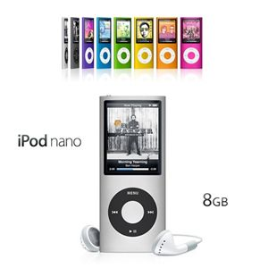 iPod nano(4th generation)8GB MB748J/A オレンジ