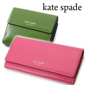 kate spade(ケイトスペード) 長財布 AS215070 HOT PINK×RED/609