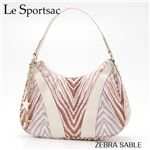 LeSportsac(レスポートサック) Large Spin 9209P ZEBRA SABLE