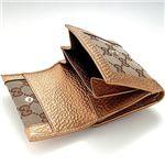 GUCCI(グッチ) Wホック式二つ折財布146198