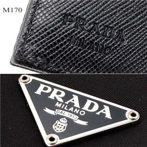 02プラダ/プラダ/PRADA 財布 M170/ブラック