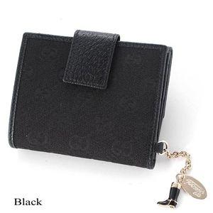 GUCCI(グッチ)  Wホック財布 154183 ブラック
