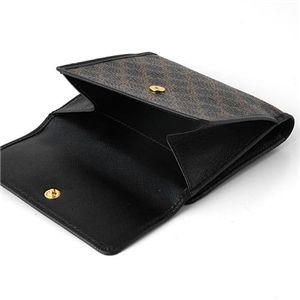 03セリーヌ/CELINE Wホック財布 102723-7/ブラック