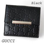 GUCCI(グッチ) 折り財布 112664 ブラック