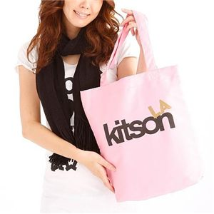 KITSON(キットソン) エコバッグ PINK 7