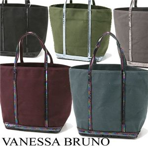 VANESSA BRUNO ヴァネッサブリューノ キャンバス×スパンコール トートバッグ 997・Acier