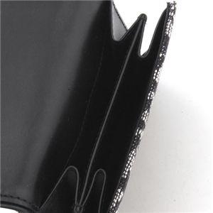 03クリスチャンディオール/トロッター/ダブルホック財布 SLO43025 B3・Blue×Oro