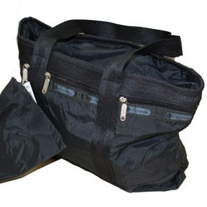 LeSportsac(レスポートサック) スモールトラベルトート 7004 Small Travel Tote 5202 ブラック