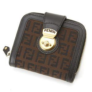 FENDI(フェンディ) 財布 8M0118 LJ9 RQ5・ダークブラウン×ダークブラウン