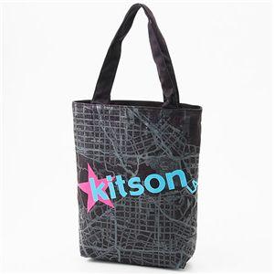 KITSON(キットソン) コットントートバッグ 7モデル KHB0166 Black
