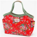 Cath Kidston(�L���X�L�b�h�\��) �o�P�b�g�o�b�O BAKET BAG 254069�EFolk Flowers Red