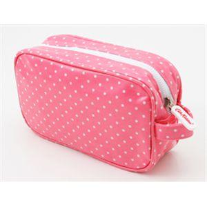Cath Kidston(キャスキッドソン) Cosmetic Bag 220835・ミニドットピンク