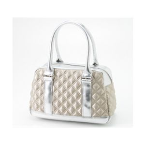 Marc by MarcJacobs(マークバイマークジェイコブス) サテンバッグ ボーリングバッグ50339/Silver