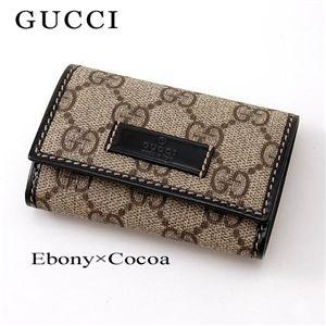 キーケース【GUCCI】グッチGUCCI(グッチ) キーケース JOY 203574 FP1KG 8552・Ebony×Cocoa