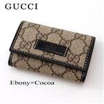 GUCCI(グッチ) キーケース JOY 203574 FP1KG 8552・Ebony×Cocoa