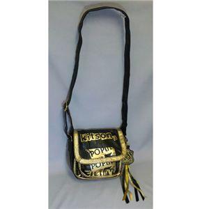 kitson(キットソン) PAMELA SHOULDER BAG Black/Gold