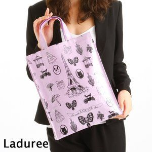 Laduree(ラデュレ) トートバッグ TOTE CHARMS L