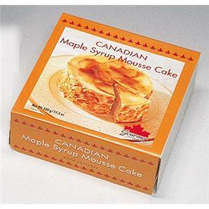 メープルシロップ・ムースケーキ