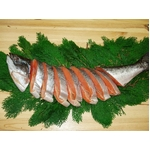 キングサーモンの塩鮭(尾頭付き)