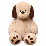 子供用 ぬいぐるみ/人形 【犬型 ベージュ】 幅45cm 〔おもちゃ 子ども部屋〕の詳細ページへ