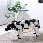 ぬいぐるみチェア/人形型椅子 【牛型 ワールドマップ柄】 幅25cm 着座可 〔おもちゃ リビング 子供部屋〕の詳細ページへ